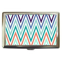 Chevrons Colourful Background Cigarette Money Cases