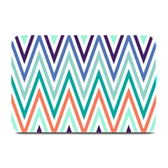 Chevrons Colourful Background Plate Mats