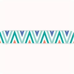Chevrons Colourful Background Small Bar Mats