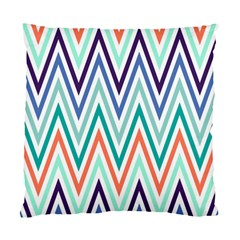 Chevrons Colourful Background Standard Cushion Case (Two Sides)