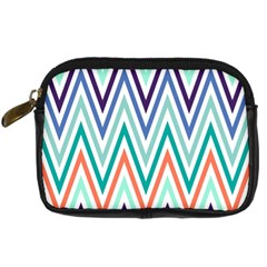 Chevrons Colourful Background Digital Camera Cases