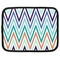 Chevrons Colourful Background Netbook Case (XXL)