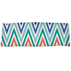 Chevrons Colourful Background Body Pillow Case Dakimakura (Two Sides)
