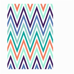Chevrons Colourful Background Large Garden Flag (two Sides)