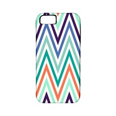 Chevrons Colourful Background Apple iPhone 5 Classic Hardshell Case (PC+Silicone)