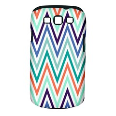 Chevrons Colourful Background Samsung Galaxy S III Classic Hardshell Case (PC+Silicone)