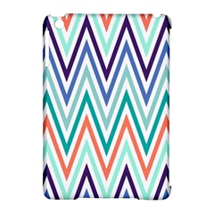 Chevrons Colourful Background Apple iPad Mini Hardshell Case (Compatible with Smart Cover)