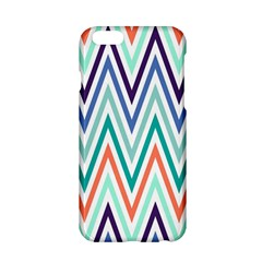 Chevrons Colourful Background Apple Iphone 6/6s Hardshell Case