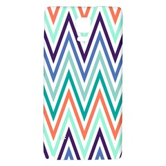 Chevrons Colourful Background Galaxy Note 4 Back Case