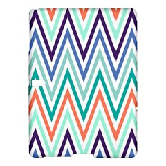 Chevrons Colourful Background Samsung Galaxy Tab S (10.5 ) Hardshell Case