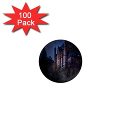 Castle Mystical Mood Moonlight 1  Mini Buttons (100 pack)