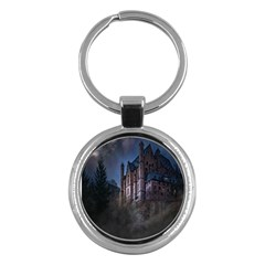 Castle Mystical Mood Moonlight Key Chains (Round)