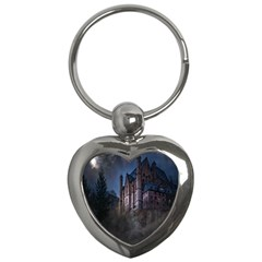 Castle Mystical Mood Moonlight Key Chains (Heart)