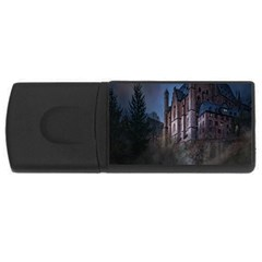 Castle Mystical Mood Moonlight USB Flash Drive Rectangular (1 GB)