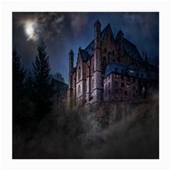 Castle Mystical Mood Moonlight Medium Glasses Cloth