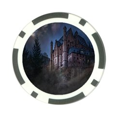 Castle Mystical Mood Moonlight Poker Chip Card Guard