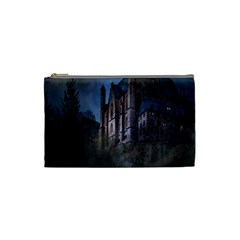 Castle Mystical Mood Moonlight Cosmetic Bag (small)