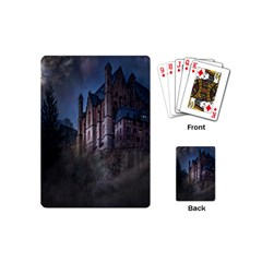 Castle Mystical Mood Moonlight Playing Cards (Mini)