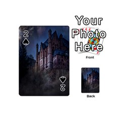 Castle Mystical Mood Moonlight Playing Cards 54 (Mini)