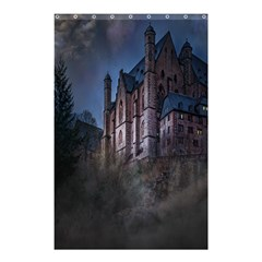 Castle Mystical Mood Moonlight Shower Curtain 48  x 72  (Small)