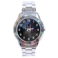 Castle Mystical Mood Moonlight Stainless Steel Analogue Watch