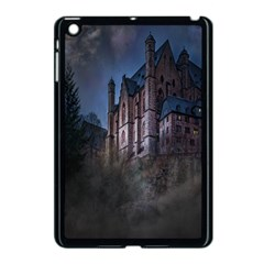 Castle Mystical Mood Moonlight Apple iPad Mini Case (Black)