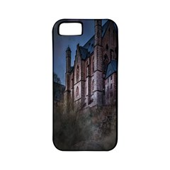 Castle Mystical Mood Moonlight Apple iPhone 5 Classic Hardshell Case (PC+Silicone)