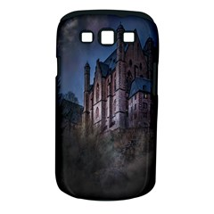 Castle Mystical Mood Moonlight Samsung Galaxy S III Classic Hardshell Case (PC+Silicone)