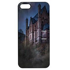 Castle Mystical Mood Moonlight Apple Iphone 5 Hardshell Case With Stand