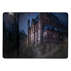Castle Mystical Mood Moonlight Samsung Galaxy Tab 10 1  P7500 Flip Case