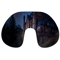 Castle Mystical Mood Moonlight Travel Neck Pillows