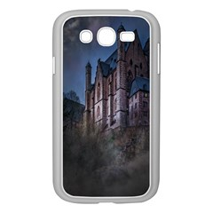 Castle Mystical Mood Moonlight Samsung Galaxy Grand Duos I9082 Case (white)