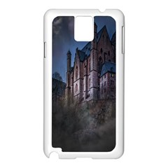 Castle Mystical Mood Moonlight Samsung Galaxy Note 3 N9005 Case (white)