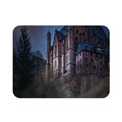 Castle Mystical Mood Moonlight Double Sided Flano Blanket (mini)