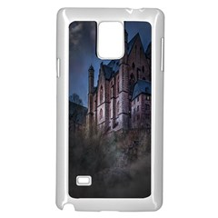 Castle Mystical Mood Moonlight Samsung Galaxy Note 4 Case (White)