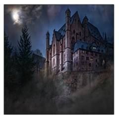 Castle Mystical Mood Moonlight Large Satin Scarf (Square)