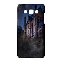 Castle Mystical Mood Moonlight Samsung Galaxy A5 Hardshell Case
