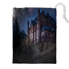 Castle Mystical Mood Moonlight Drawstring Pouches (XXL)