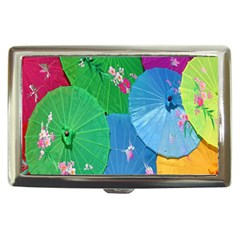 Chinese Umbrellas Screens Colorful Cigarette Money Cases