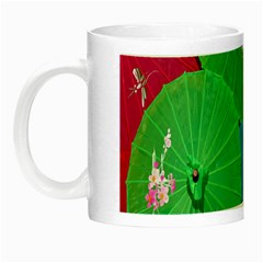 Chinese Umbrellas Screens Colorful Night Luminous Mugs