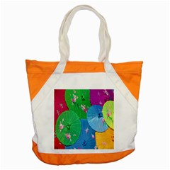 Chinese Umbrellas Screens Colorful Accent Tote Bag