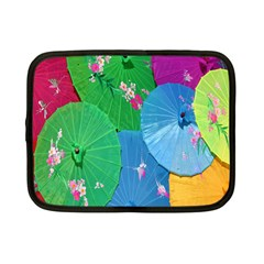 Chinese Umbrellas Screens Colorful Netbook Case (small)
