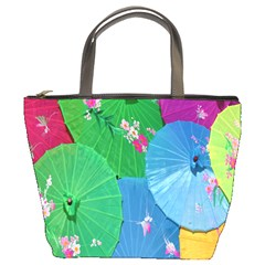 Chinese Umbrellas Screens Colorful Bucket Bags