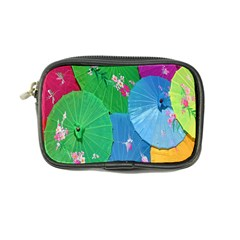 Chinese Umbrellas Screens Colorful Coin Purse