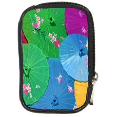 Chinese Umbrellas Screens Colorful Compact Camera Cases