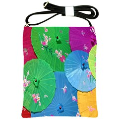Chinese Umbrellas Screens Colorful Shoulder Sling Bags