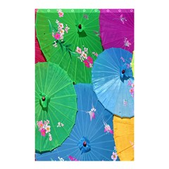 Chinese Umbrellas Screens Colorful Shower Curtain 48  x 72  (Small)