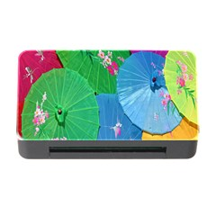 Chinese Umbrellas Screens Colorful Memory Card Reader with CF
