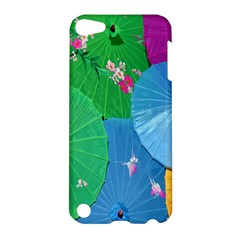 Chinese Umbrellas Screens Colorful Apple Ipod Touch 5 Hardshell Case