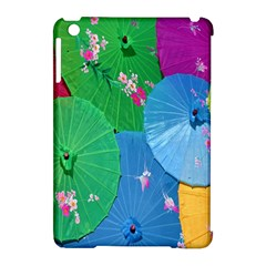Chinese Umbrellas Screens Colorful Apple iPad Mini Hardshell Case (Compatible with Smart Cover)